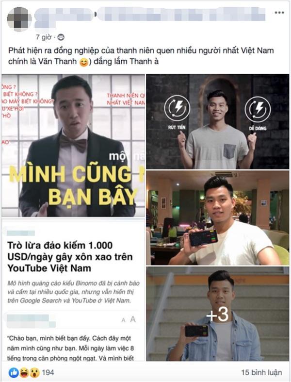 Xôn xao thông tin hậu vệ nổi tiếng của U23 Việt Nam quảng cáo cho mô hình lừa đảo kiểu đánh bạc-4