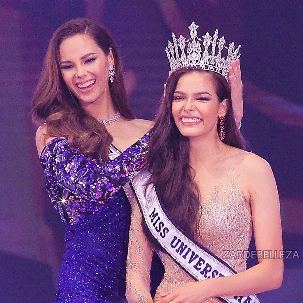 Đã đẹp còn ứng xử nuốt mic, tân Hoa hậu Hoàn vũ Thái Lan đe dọa khả năng intop của Hoàng Thùy tại Miss Universe 2019-1