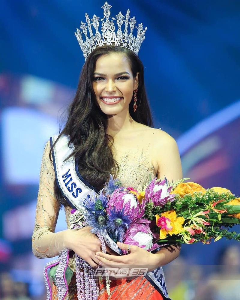 Đã đẹp còn ứng xử nuốt mic, tân Hoa hậu Hoàn vũ Thái Lan đe dọa khả năng intop của Hoàng Thùy tại Miss Universe 2019-3