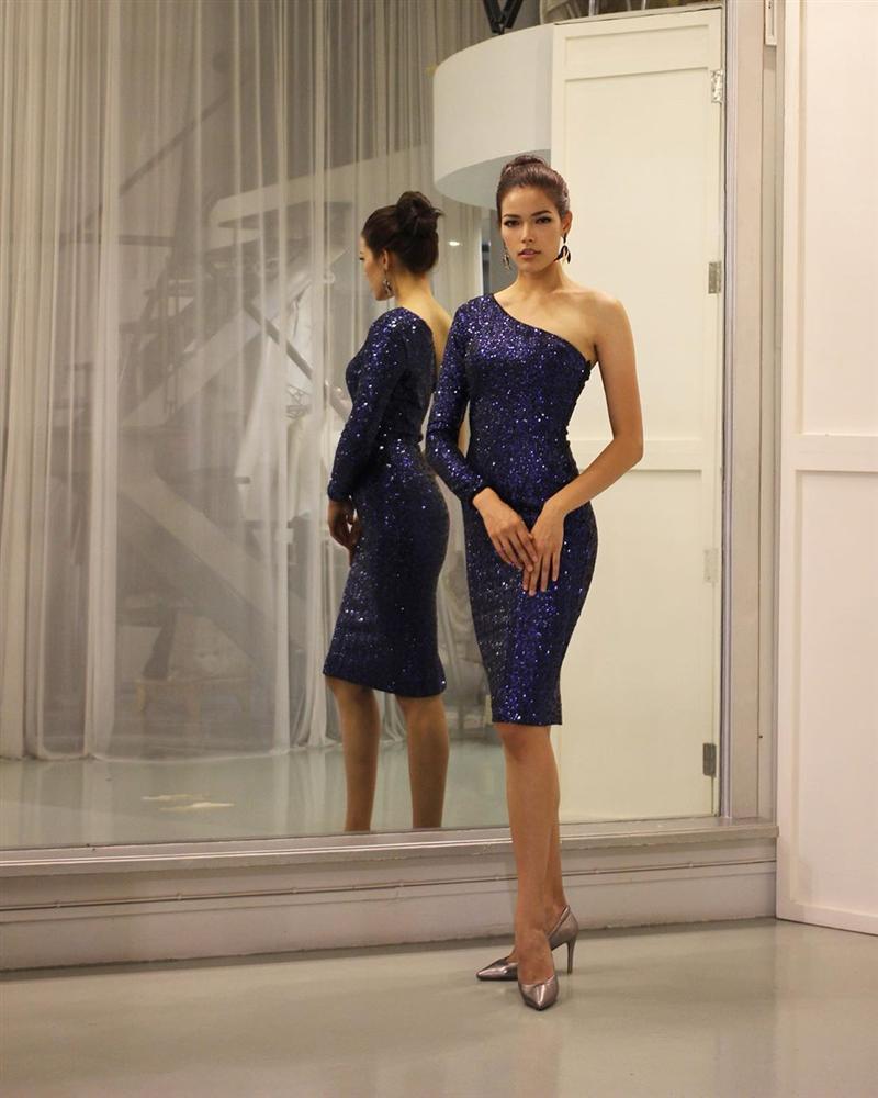 Đã đẹp còn ứng xử nuốt mic, tân Hoa hậu Hoàn vũ Thái Lan đe dọa khả năng intop của Hoàng Thùy tại Miss Universe 2019-6