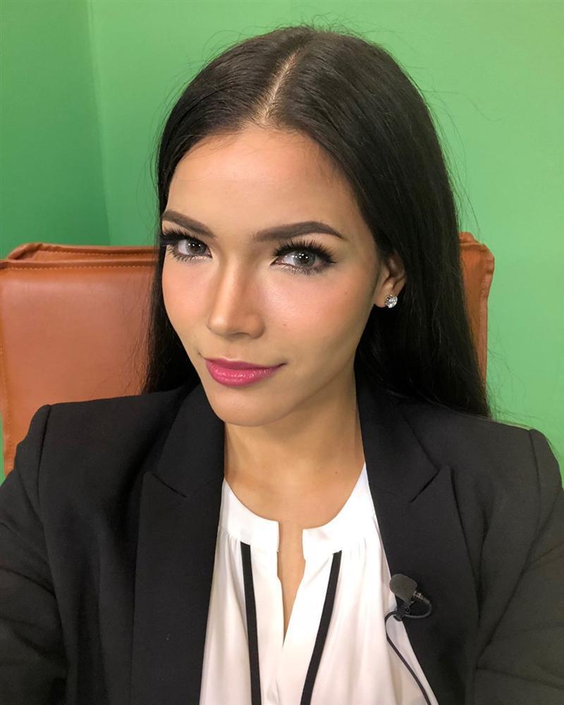 Đã đẹp còn ứng xử nuốt mic, tân Hoa hậu Hoàn vũ Thái Lan đe dọa khả năng intop của Hoàng Thùy tại Miss Universe 2019-8
