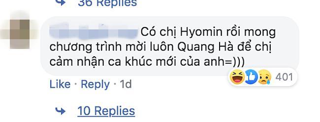 Vì sao nữ thần Hyomin (T-ara) sang Việt Nam nhưng Quang Hà lại được réo tên đề nghị diễn cùng?-2