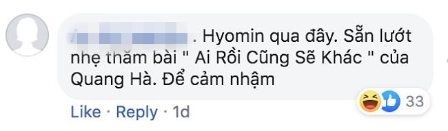 Vì sao nữ thần Hyomin (T-ara) sang Việt Nam nhưng Quang Hà lại được réo tên đề nghị diễn cùng?-4