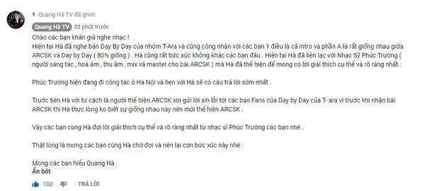 Vì sao nữ thần Hyomin (T-ara) sang Việt Nam nhưng Quang Hà lại được réo tên đề nghị diễn cùng?-7