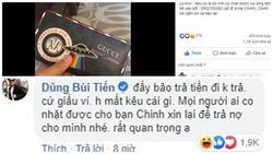 Đức Chinh đăng bài tìm ví thất lạc, 'hội anh em cây khế' tranh thủ cơ hội troll không thương tiếc