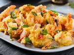 Học đầu bếp Trung Quốc làm tôm chiên xù sốt chua ngọt thịnh soạn