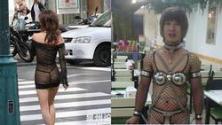 'Thảm họa thời trang Trung Quốc': Cả đàn ông lẫn đàn bà đều khoe nội y khi ra đường