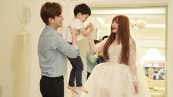 Bị đồn 'bác sĩ bắt lấy chồng', Thu Thủy chọn váy cưới che bụng, cưới gấp trong tháng 7 này?
