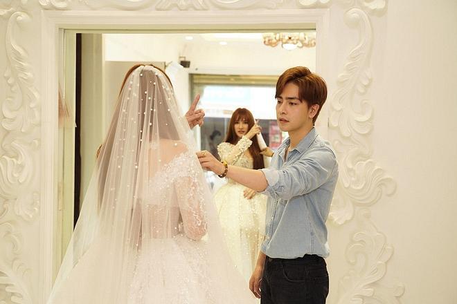 Bị đồn bác sĩ bắt lấy chồng, Thu Thủy chọn váy cưới che bụng, cưới gấp trong tháng 7 này?-5