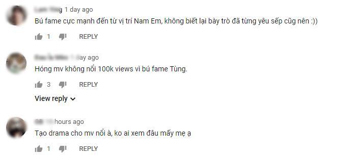 Nam Em bị tố tạo chiêu trò, câu fame bẩn vì vô duyên vô cớ lôi Sơn Tùng M-TP vào teaser MV mới-6