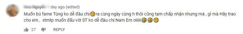 Nam Em bị tố tạo chiêu trò, câu fame bẩn vì vô duyên vô cớ lôi Sơn Tùng M-TP vào teaser MV mới-7