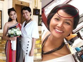 Mặc chỉn chu đón tiếp bạn thi Miss Universe nhưng H'Hen Niê lại gây hoang mang khi không makeup - chẳng làm đầu