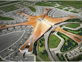 Chiêm ngưỡng sân bay lớn nhất thế giới ở Trung Quốc