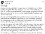 Vụ cháy rừng ở Hà Tĩnh: Vì sao MC Phan Anh phải xin lỗi?