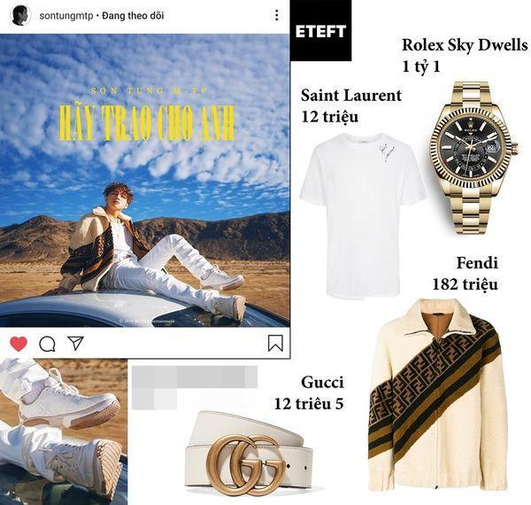 Bóc giá đồ hiệu trong MV Hãy trao cho anh: Rich Kid Sơn Tùng M-TP sắm đồ tiền tỷ nhưng vẫn tận dụng đồ cũ trong MV Chạy ngay đi-2
