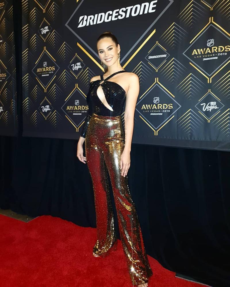 Hết vía với thời trang đã lôi thôi còn sến sẩm, tố cáo hình thể kém hoàn hảo của Hoa hậu Hoàn vũ 2018-11