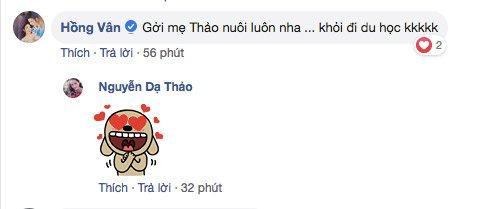 Con gái 15 tuổi của MC Quyền Linh trổ tài làm tóc cho bạn, bất ngờ nhất chính là phản ứng từ nghệ sĩ Hồng Vân-2