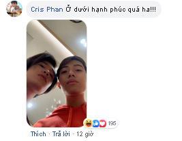 Bà xã có lòng cập nhật ảnh đại diện Facebook cực tình, Cris Phan vào bình luận như muốn tự châm lửa đốt nhà mình-2