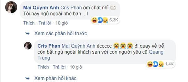 Bà xã có lòng cập nhật ảnh đại diện Facebook cực tình, Cris Phan vào bình luận như muốn tự châm lửa đốt nhà mình-5