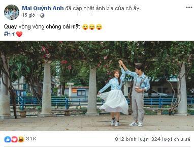 Bà xã có lòng cập nhật ảnh đại diện Facebook cực tình, Cris Phan vào bình luận như muốn tự châm lửa đốt nhà mình-1