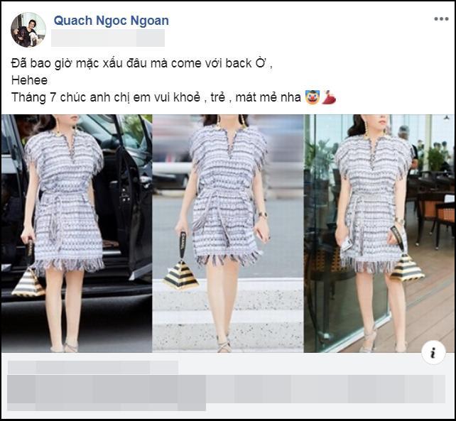 Quá mê Phượng Chanel, Quách Ngọc Ngoan tuyên bố: Cô ấy chưa bao giờ mặc xấu-4