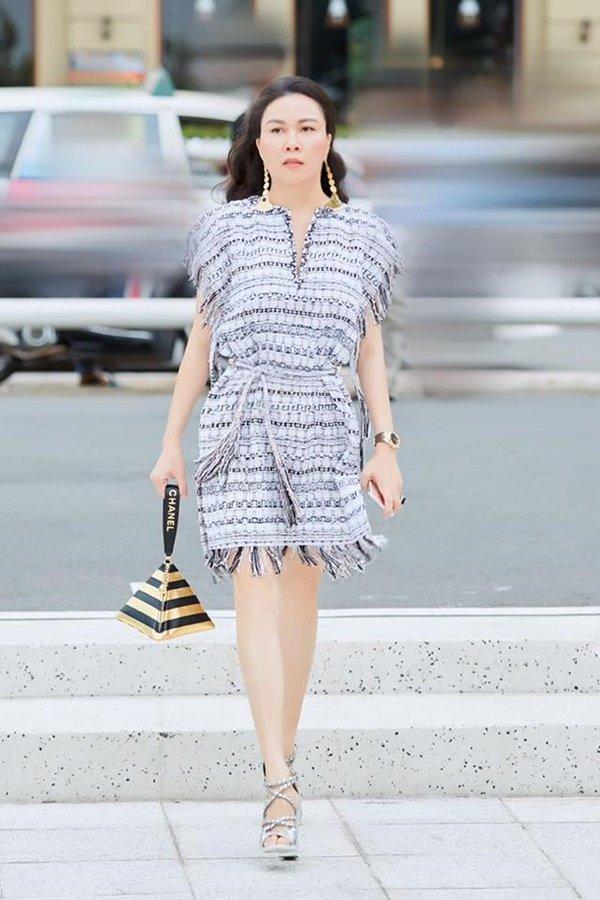 Quá mê Phượng Chanel, Quách Ngọc Ngoan tuyên bố: Cô ấy chưa bao giờ mặc xấu-3