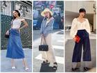 Mix đồ với trang phục denim: Diệu Nhi sai quá sai - Phí Phương Anh lại cao tay cực kỳ
