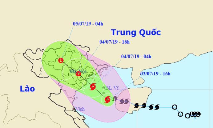Bão số 2 mở rộng vùng ảnh hưởng tới Thanh Hóa, 4 tỉnh đã cấm biển-1