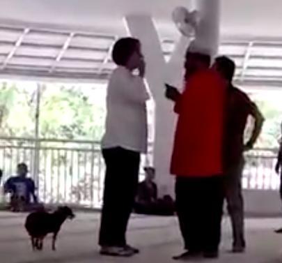 Phản đối chồng cưới vợ 2, người vợ thả chó ngay trong lễ cưới-1