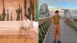 Nghi vấn NTK Lý Quí Khánh và 'người tình tin đồn' Quang Vinh đang có kỳ nghỉ hè thân mật
