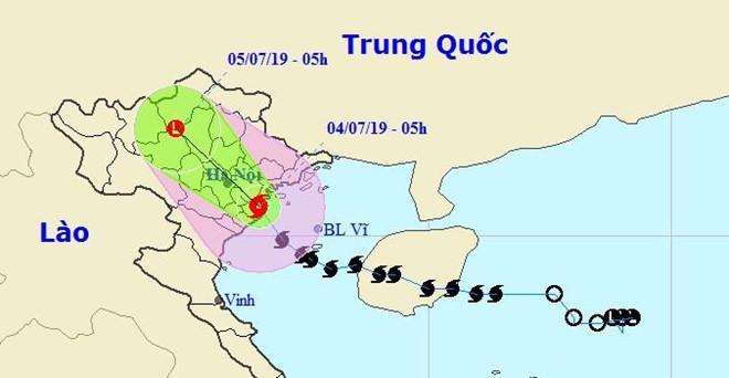 Bão số 2 suy yếu thành áp thấp nhiệt đới, mưa giảm dần-3