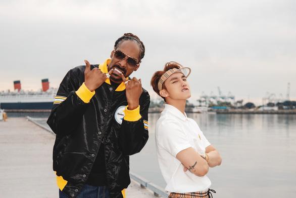 Thiều Bảo Trâm được Snoop Dogg cap màn hình chúc mừng Sơn Tùng MTP khiến Skys fan nháo nhào vì lo lắng-1