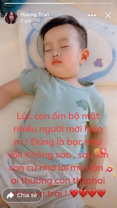 Bất lực khi con đau ốm, vợ cũ Việt Anh ẩn ý: Lúc này bộ mặt nhiều người mới hiện ra bạc như vôi-3