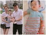 Bất lực khi con đau ốm, vợ cũ Việt Anh ẩn ý: 'Lúc này bộ mặt nhiều người mới hiện ra bạc như vôi'