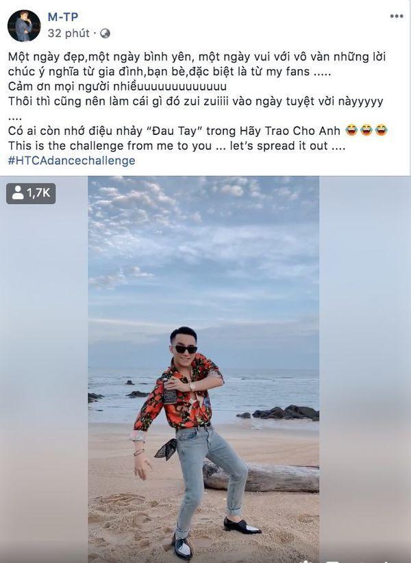 Mừng sinh nhật tuổi 25, Sơn Tùng tung thử thách cover điệu nhảy đau tay trong MV Hãy trao cho anh-5