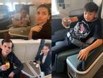 Đi Mỹ nhiều như đi chợ: Hồ Ngọc Hà lại xuất ngoại du hí cùng Kim Lý, SuBeo và bố mẹ