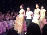 Đỗ Mỹ Linh lộ diện ngay sau khi bị 'bóc phốt người yêu', làm vedette thời trang tại Hà Nội