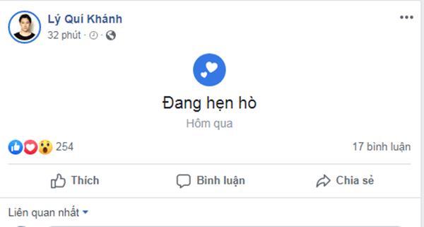 Lý Quí Khánh công khai hẹn hò người tình 14 năm, Quang Vinh lập tức bị réo tên vì thời gian quá trùng khớp-1