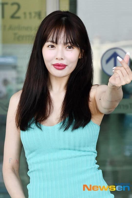 Nữ hoàng gợi cảm HyunA dính nghi vấn bơm môi khi xuất hiện với đôi môi xúc xích to mọng-5