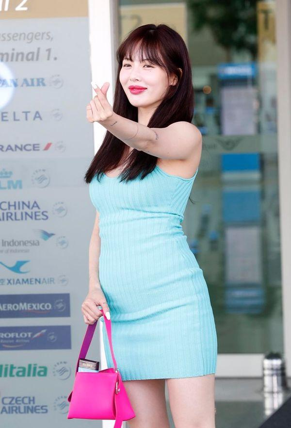 Nữ hoàng gợi cảm HyunA dính nghi vấn bơm môi khi xuất hiện với đôi môi xúc xích to mọng-10