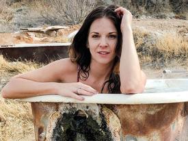 Bỏng da với bồn tắm ngoài trời, nước nóng gần 50 độ C