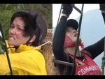 Cùng Minh Triệu chạy xe trên địa hình quá nguy hiểm, Kỳ Duyên khóc ròng vì sợ chết giữa chốn hoang sơ-8