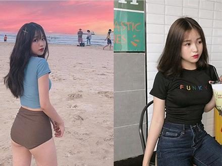 Thêm một girl xinh Hà Nội chỉ cao 1m52 được báo nước ngoài rầm rộ ca ngợi vì body nóng bỏng khó ai bì