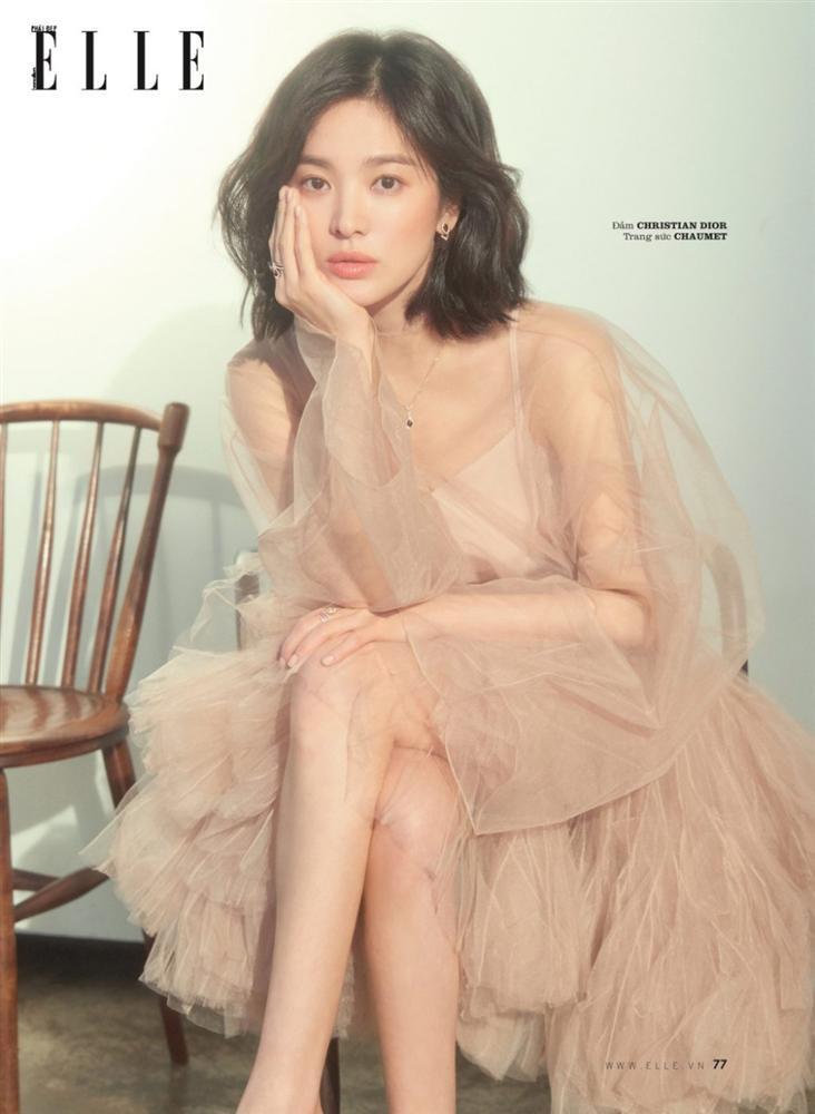 Đụng váy với Song Hye Kyo, Diễm My can tâm nhận mọi sự so sánh-4