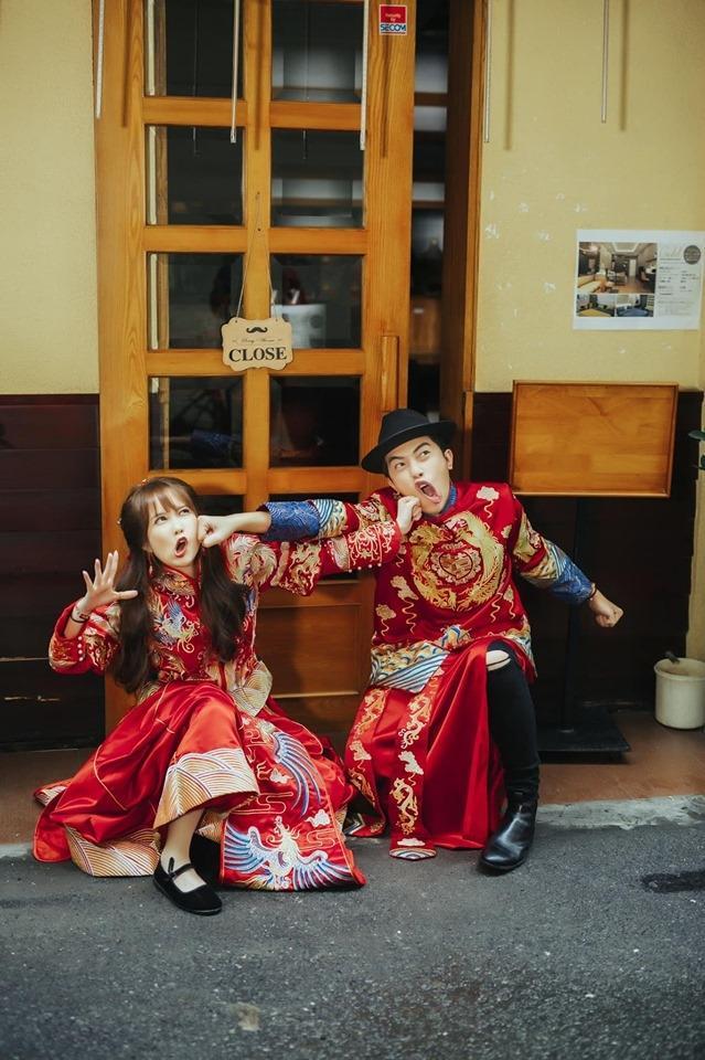 Tiếp tục khoe ảnh cưới mặn mòi, Mai Quỳnh Anh bị ông xã Cris Phan đá đểu: Chả hiểu con vợ hay con voi-3