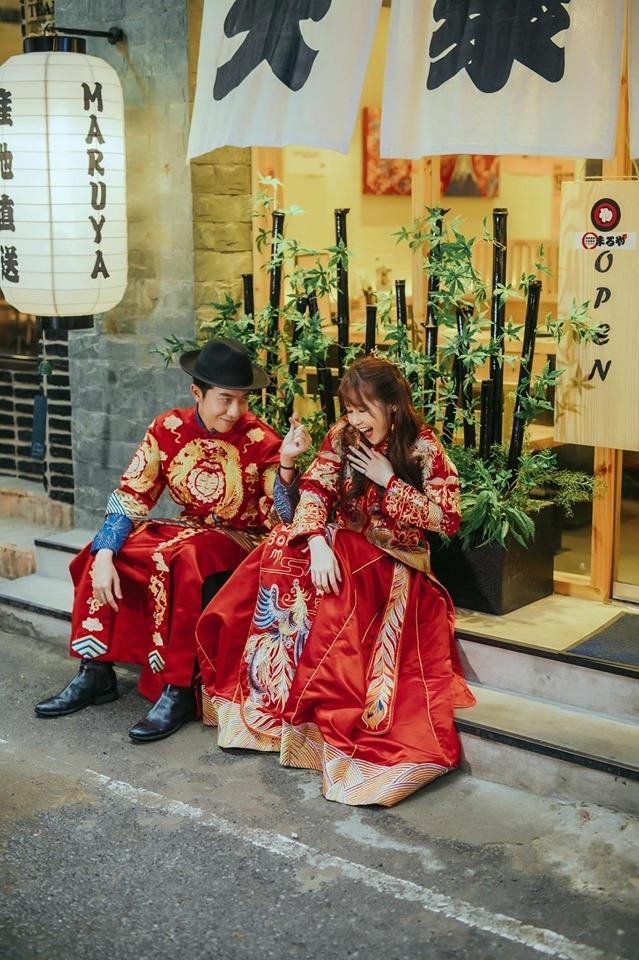 Tiếp tục khoe ảnh cưới mặn mòi, Mai Quỳnh Anh bị ông xã Cris Phan đá đểu: Chả hiểu con vợ hay con voi-4