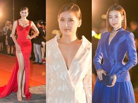 Tiểu Vy tỏa sáng như nữ thần trên thảm đỏ nhưng Mai Phương Thúy lại hút mắt hơn với thời trang menswear