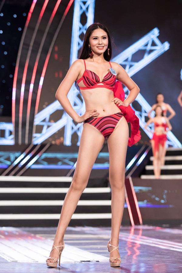 Bạn gái Trọng Đại bất ngờ bị loại sớm khỏi cuộc thi Hoa hậu Thế giới Việt Nam 2019-10