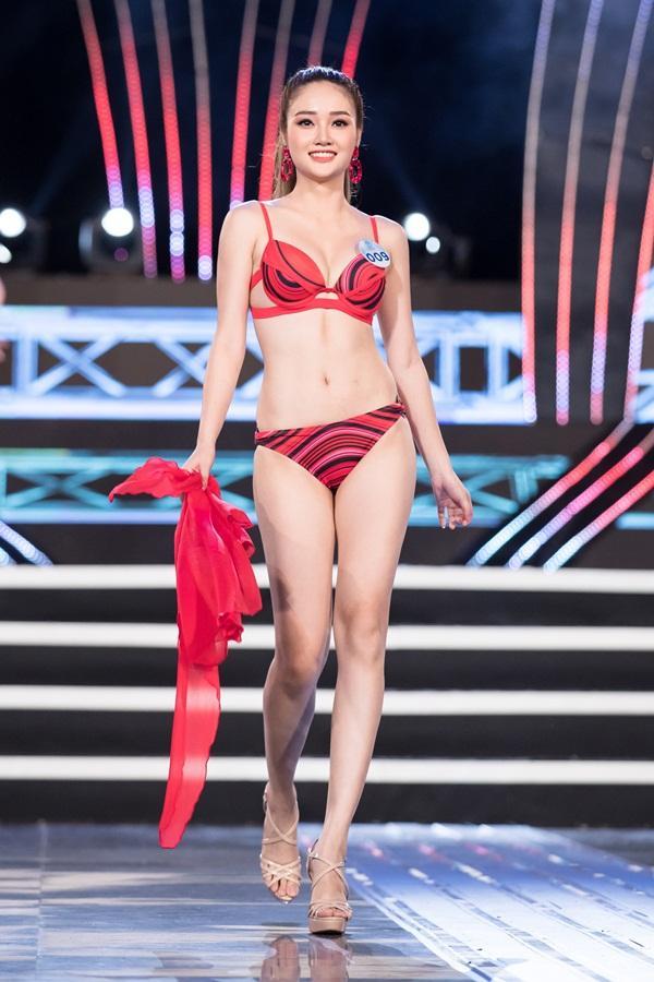 Bạn gái Trọng Đại bất ngờ bị loại sớm khỏi cuộc thi Hoa hậu Thế giới Việt Nam 2019-11