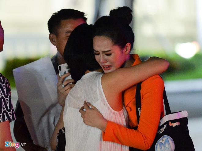 Bạn gái Trọng Đại khóc nức nở khi bị loại ở Hoa hậu Thế giới Việt Nam-2